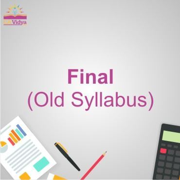 Picture for category Final (Old Syllabus)