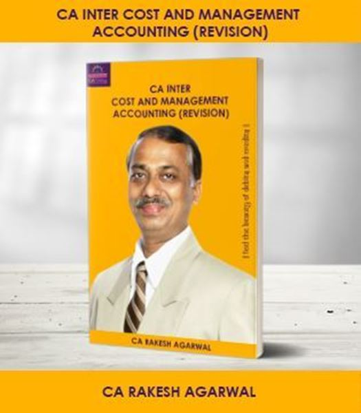 Picture of CA Inter Cost and Management Accounting - Revision