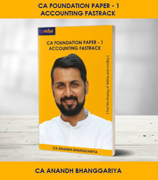 Picture of CA FOUNDATION Paper-1: Accounting Fastrack