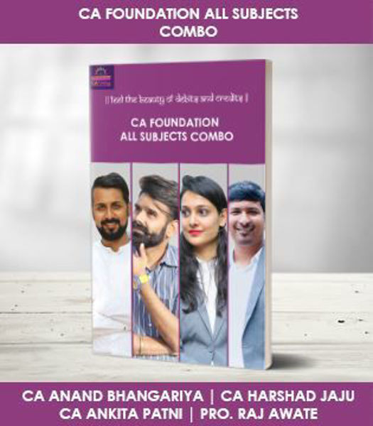 Picture of CA Foundation All Subjects Live Combo (Maths by Raj Awate)