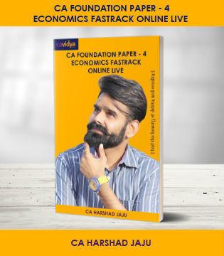 Picture of CA FOUNDATION Paper-4: Economics Fastrack Online Live