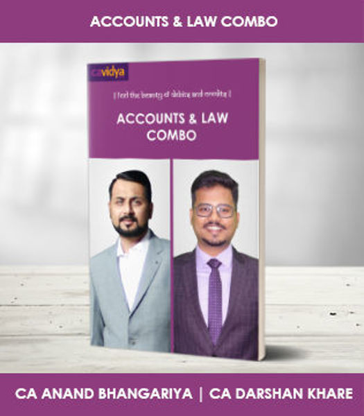 Picture of Accounts & Law COMBO (Darshan Khare) (NEW)